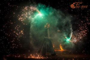 Пиротехническое шоу от Fire Spirit фото 3
