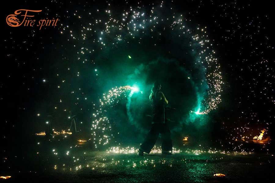 Пиротехническое шоу Fire Spirit
