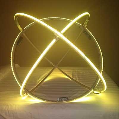 LED сфера фото