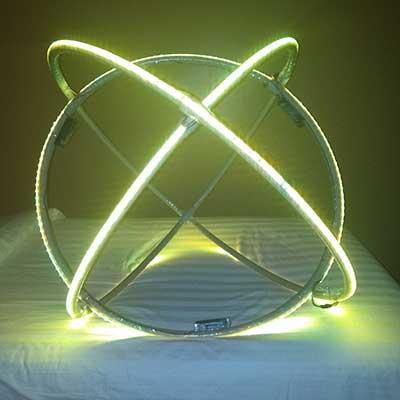 Диодная LED сфера фото