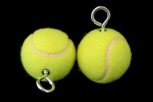 Теннисные мячики для поев фото
