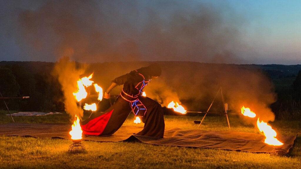 Огненное шоу соло фото 2